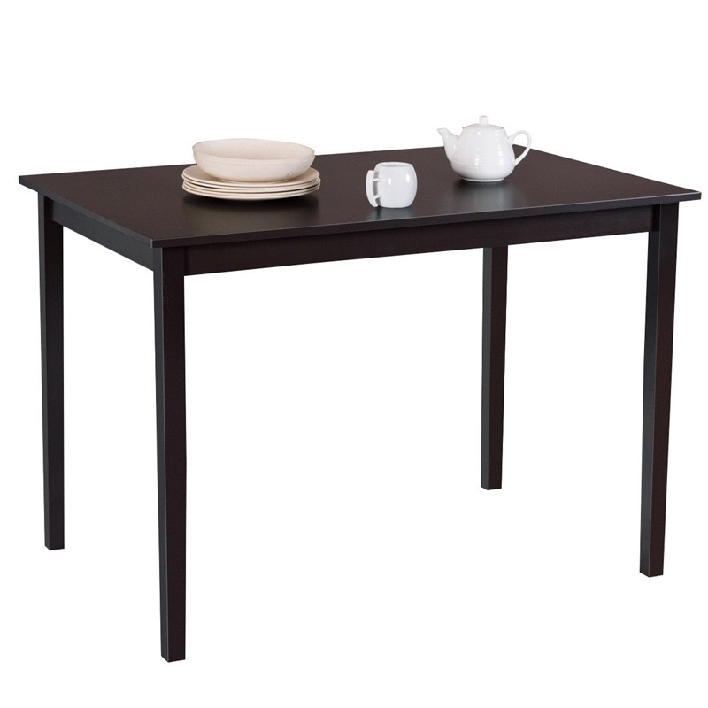 Coffee Table To Dining Table.Us 72 14 35 Off High Quality Premium Mdf Pine Wood Modern Rectangle Dining Table With Foot Pads Wooden Legs Coffee Table Computer Desk In Dining