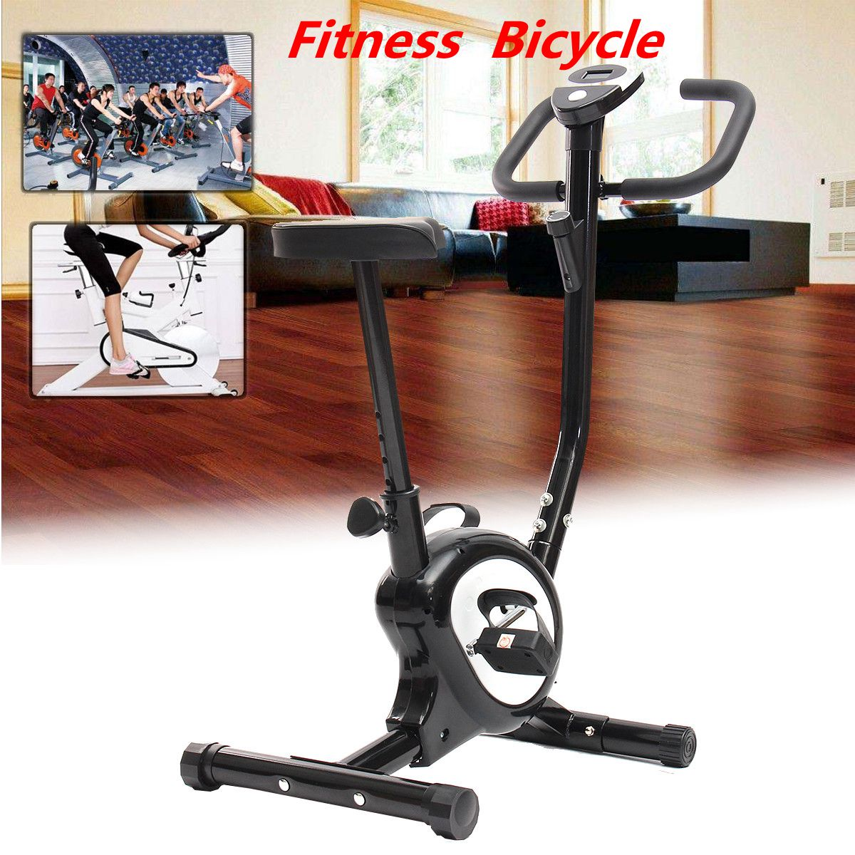 Exercise Spin Bike Home Gym Bicycle Cycling Cardio Fitness Training Workout Bike lose weight fitness equipment load Indoor fitness bike indoor cycling exercise equipment with the electronic display screen the indoor cycling ultra quiet bicycle trainer