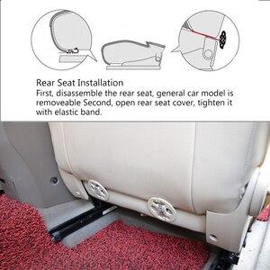 Image 4 - Araba koltuğu kapakları otomobil koltuk minderi Anti kayma araba iç aksesuarları dört mevsim PU deri koltuk koruma dekorasyon