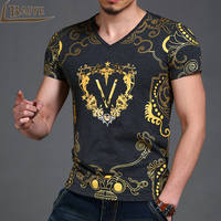 TBAIYE 2017 Newest Fashion Men S T Shirts 3D Printed Summer T Shirts And Casual Cotton