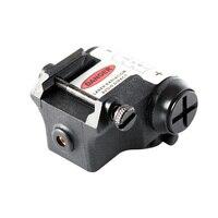 Dropship Gun Laser Pointer Mini Compact Laser Sight with Rail for Pistol Handgun 1911 M9 Glock 17 Glock 19 Tactical Scope