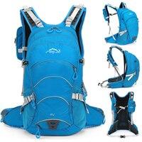 Running Cycling Waterproof 20L Backpack Bike Backpack with Helmet Net for Cycling Hiking Biking Camping Men Women