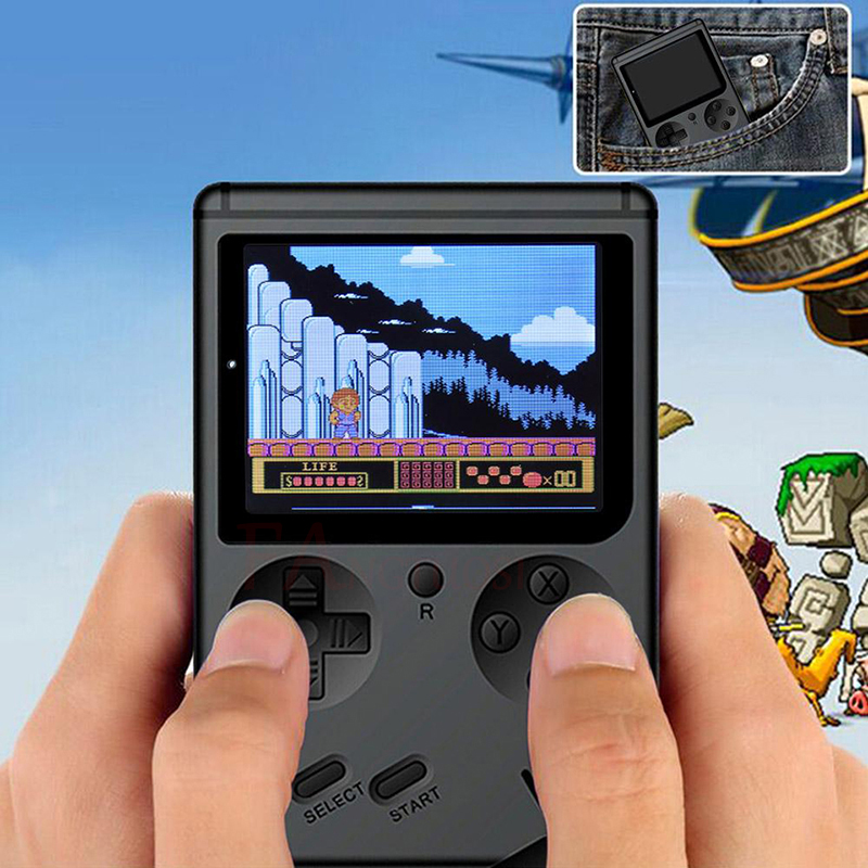 FANGTUOSI Video Game Console 8 Bit Retro Mini Pocket Handheld Game Player Built-in 168 Classic Games for Child Nostalgic Player 5