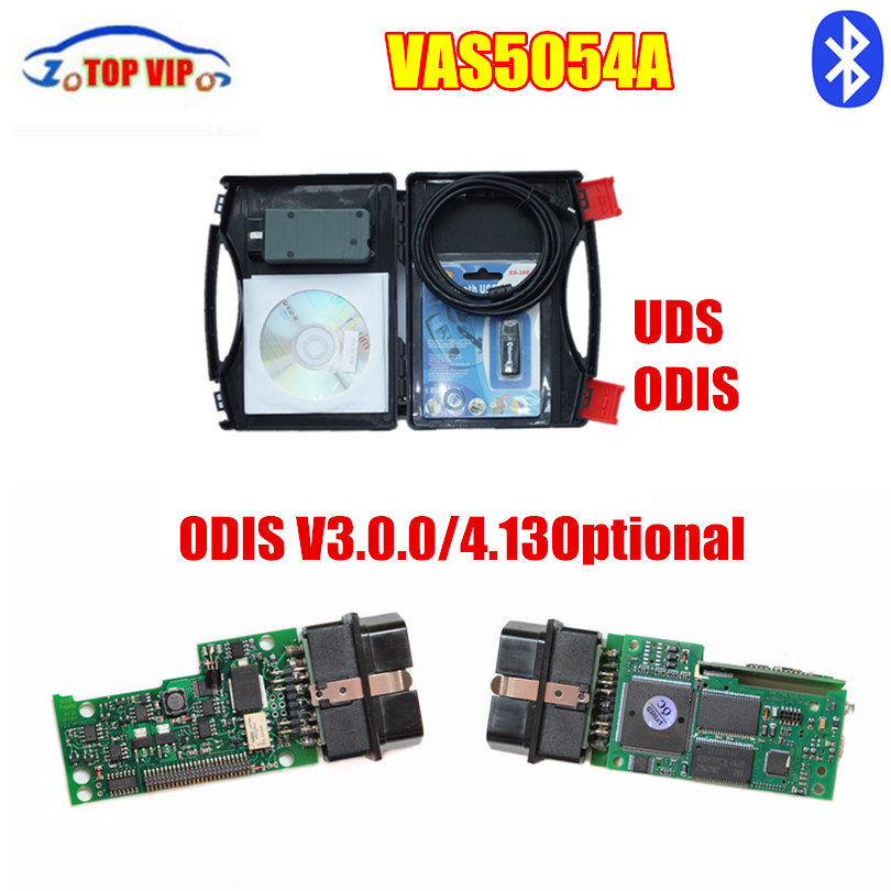 + VAS 5054a + качество стоимость доставки по разумным ценам полный чип Bluetooth OKI чип Поддержка UDS ODIS 4.0.0 автомобиля Diagnotic-инструмент