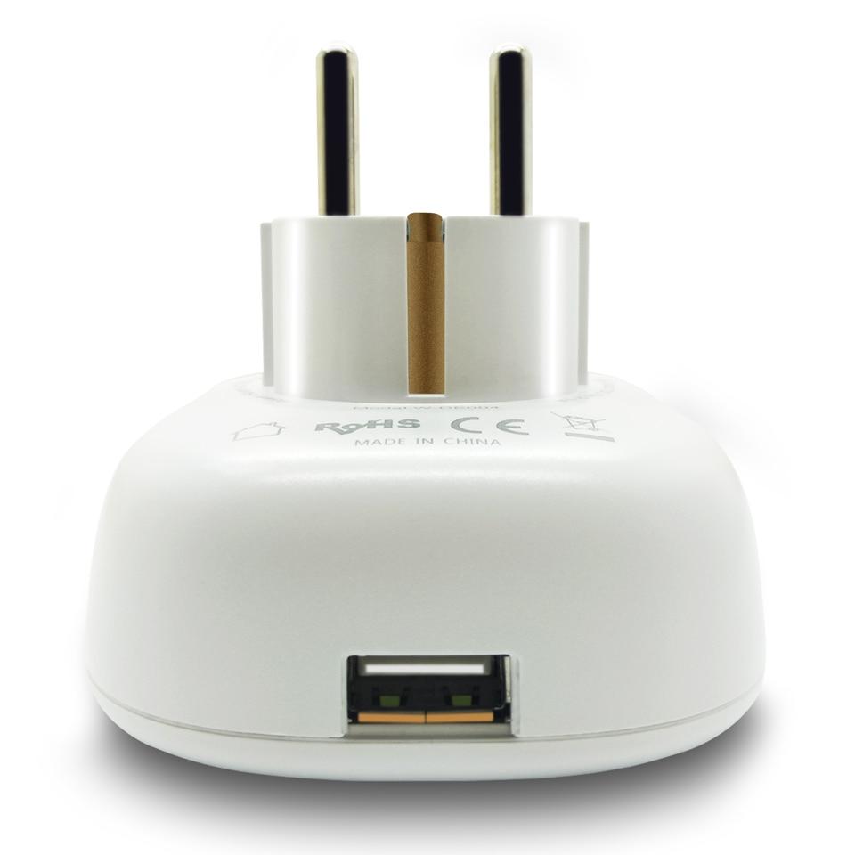 Image 3 - Russian Eu Wifi Plug Adapter Tuya Smart Socket With USB Charging Port Smart Google Home Wireless Remote Control Electric Plug
