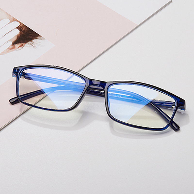 Frame of grade eyeglasses for women transparent lenses spectacles frame retro college wind-proof blue-light computer glasses