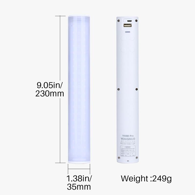 YN60-RGB-HA-CONDOTTO-LA-luce-di-riempimento-bastone-di-Ghiaccio-luce-photography-luce-luce-di