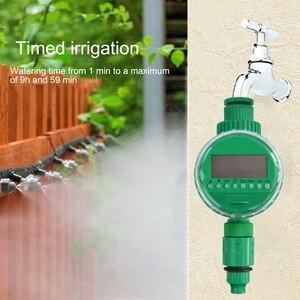 Image 5 - אוטומטי חכם השקיה בקר LCD תצוגת השקיה טיימר צינור ברז טיימר חיצוני עמיד למים אוטומטי על Off