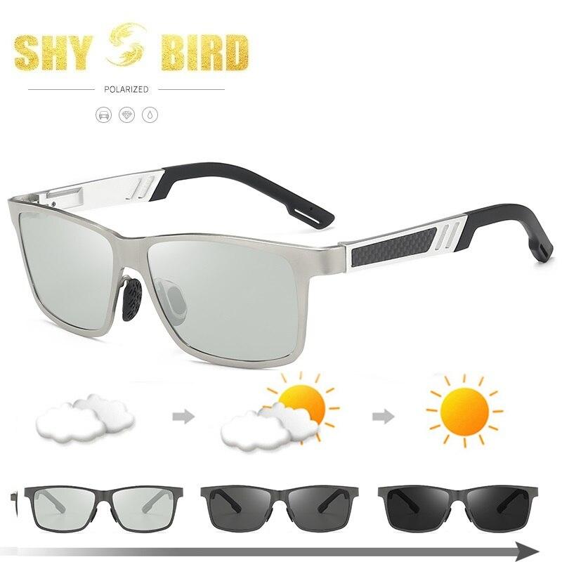 Polarized Photochromic Sunglasses Mens Transition Lens Driving Fishing Glasses Male Driver Safty Goggles Oculos Gafas De Sol