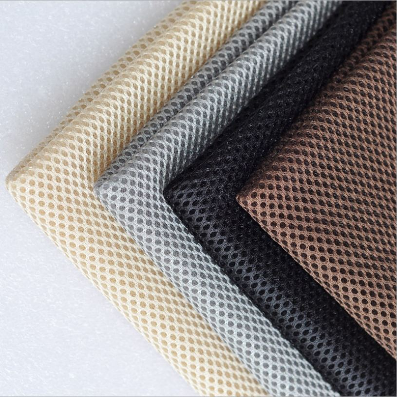 Polyester Mesh Fabric Lining Breathable Speaker Mesh Cloth Dustproof 1 Meter