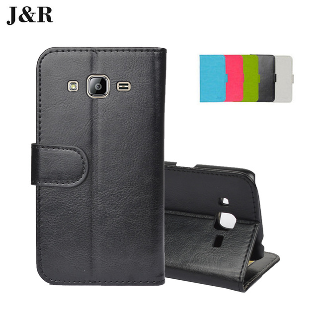 6df2bd49440 For Samsung Galaxy J2 2016 J210 J210F PU Leather case Flip cover Cute Paint  Sparkle Wallet Design For Samsung J2 2016 case cover
