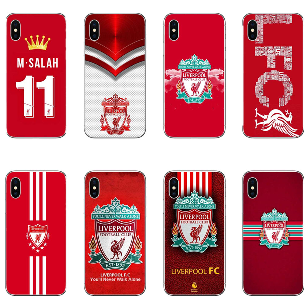 5ede515ad5d Liverpool football graphic soft silicone cover phone case for iPhone MAX XR  XS X10 5 5S