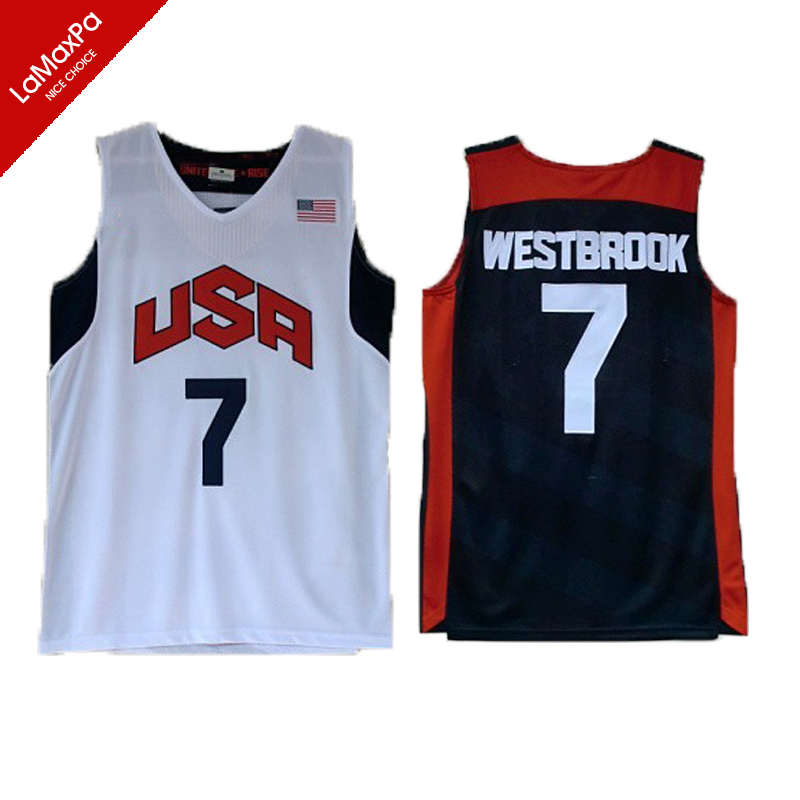 Team 2012 USA Basketball Jerseys James Harden Jersey Kyrie Irving Paul Anthony Davis Kevin Durant Russell Westbrook