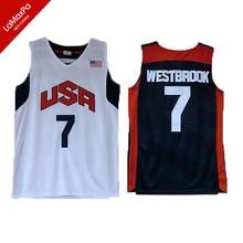 f26138dba22 Team 2012 USA Basketball Jerseys James Harden Jersey Kyrie Irving Paul  Anthony Davis Kevin Durant Russell