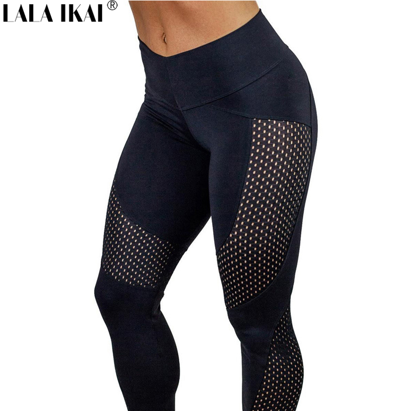 Prix pour Gym Leggings De Yoga Pantalon Leggings de Course Pantalon Sport Femmes Fitness Collants lala ikai calzas deportivas mujer fitness HWU0215-45