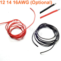 12 14 16 AWG Heatproof Soft Silicone Wire Cable Flexible Silica Gel Connect Red / Black For RC Car Airplanes Spare Parts Motors
