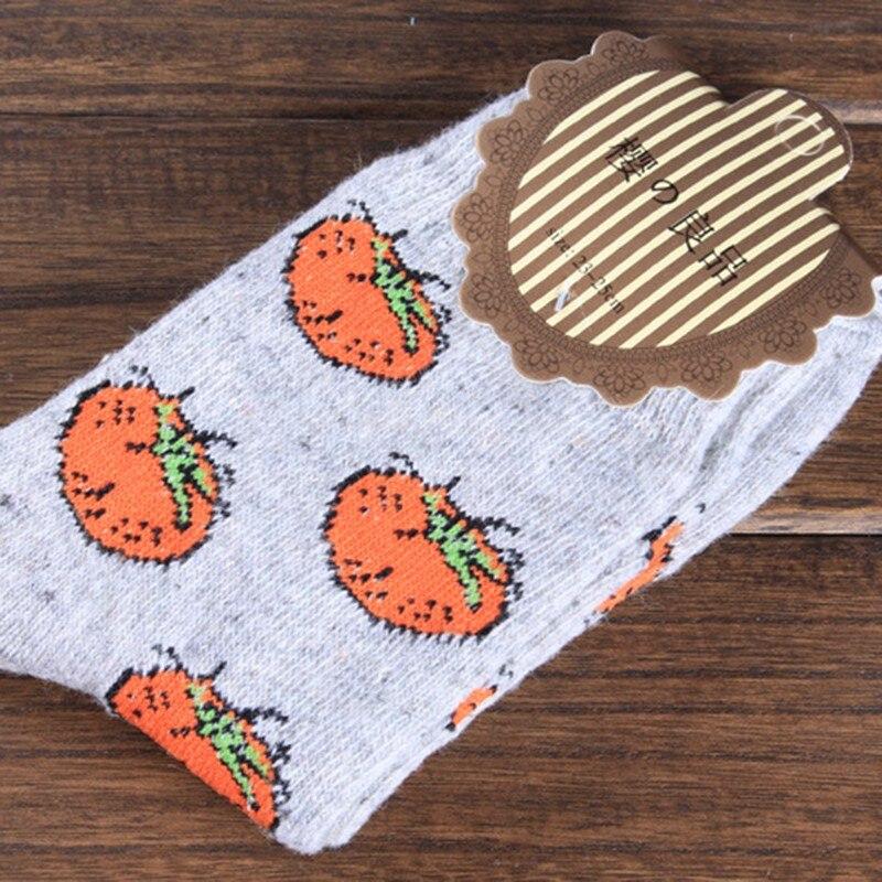 Women's Sock Cute Fruit Banana Casual Spring Summer Cozy Cotton Short Socks Hosiery For Gril New Design