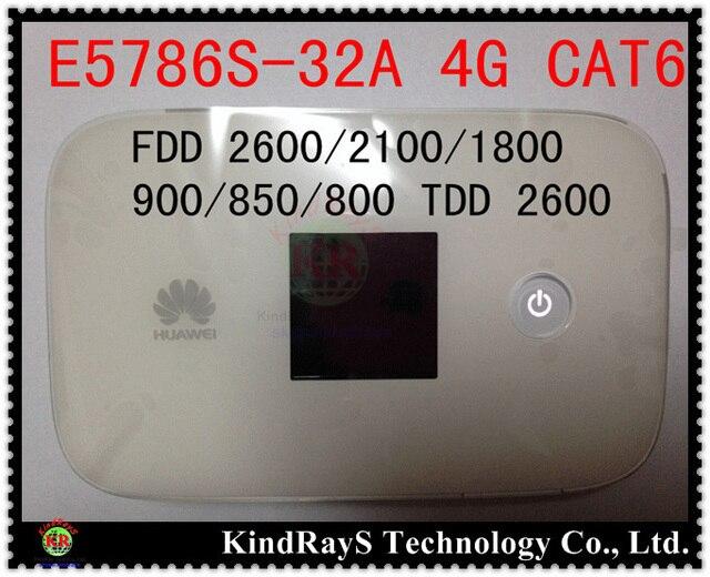 Разблокирована Huawei e5786s-32a 4 г wi-fi маршрутизатор e5786 Cat6 300 Мбит LTE 4 г Мифи маршрутизатор dongle 4 г карманные Wifi dongle пк e5878 ac790s