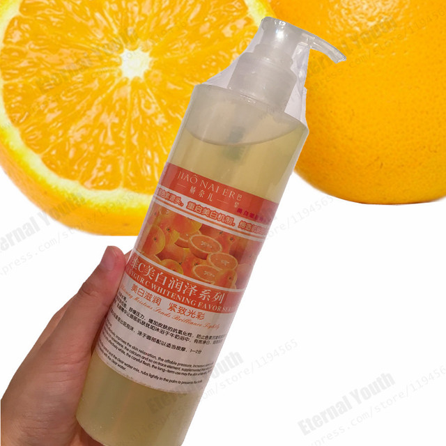 Fresh Orange Whitening Essence Vitamin C VC Face Serum 500ML Bulk Mask Water