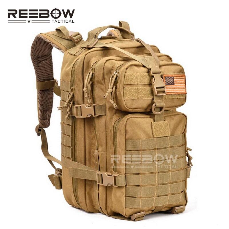 34L hommes Sports de plein air Camping sac à dos militaire 3 P assaut MOLLE Bug Out petit sac à dos chasse armée Combat voyage escalade