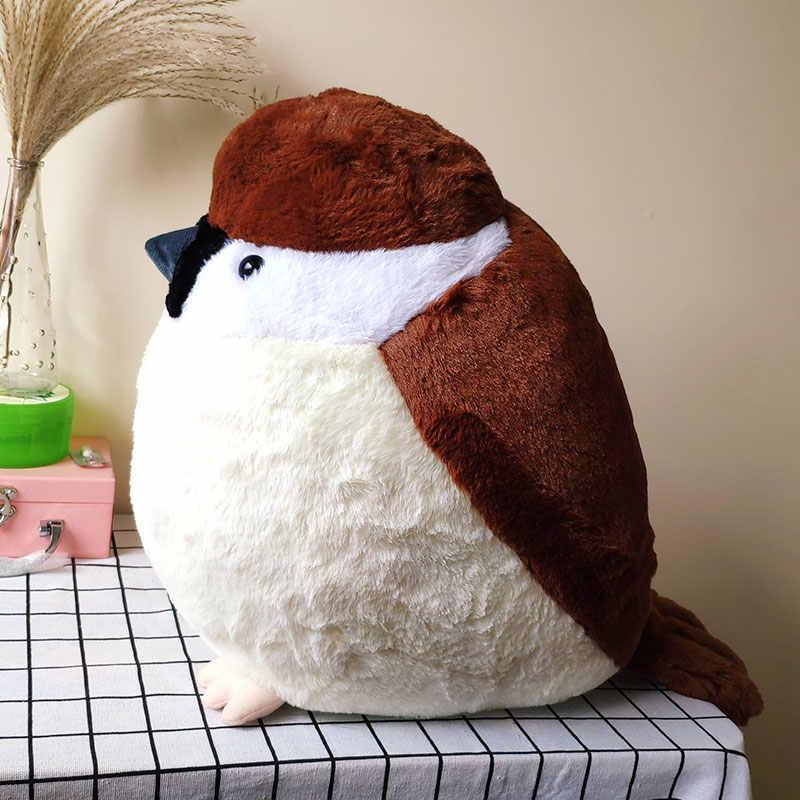 Животные Птицы Воробей милые плюшевые игрушки мягкие куклы подушка для детей Рождественский подарок Креативные Игрушки для маленьких девочек