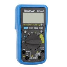 HoldPeak HP-90E Авто Диапазон Цифровой ЖК-Мультиметр DMM Измеритель Температуры Батареи Multitester Multimetr Medidor Dijital Multimetre