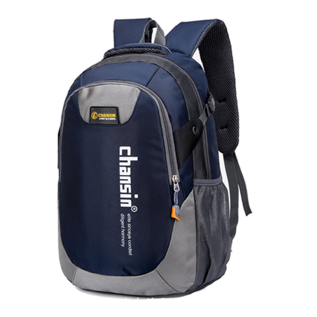 NEW Men Backpack Travel bag Teenagers School Bag Chain Nylon Waterproof Backpacks  Men Backpack Casual Laptop a786e3016f39f