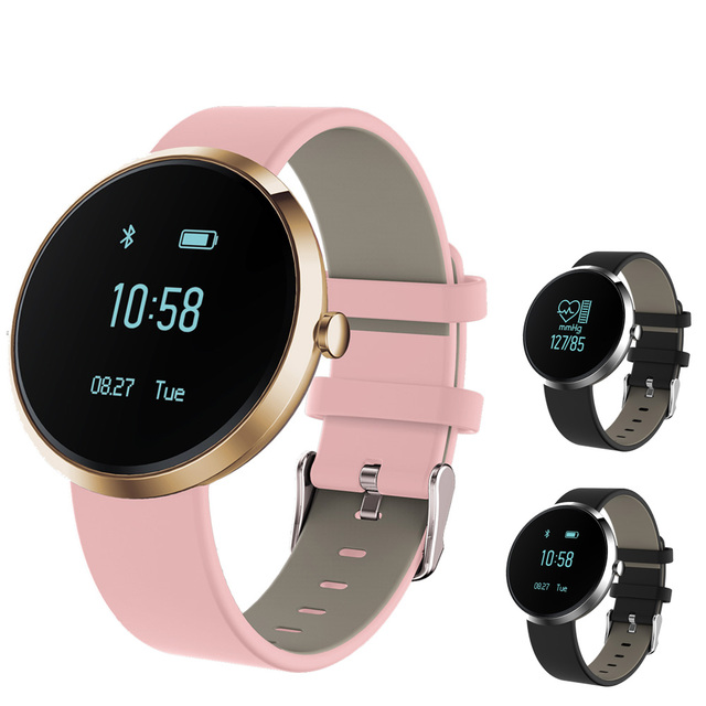 New Fashion Zinc Alloy Fitness Tracke Smart Bracelets V06 Blood Pressure Heart Rate Monitor Sport Activity Watch Smart Band