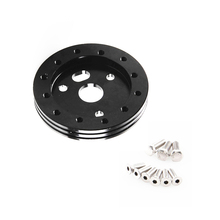 0.5 Hub for 6 Hole Steering Wheel to Grant 3 Adapter Boss Black 1/2