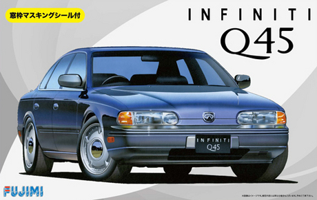 1/24 Assembled Vehicle Model Infiniti Q45 039451/24 Assembled Vehicle Model Infiniti Q45 03945