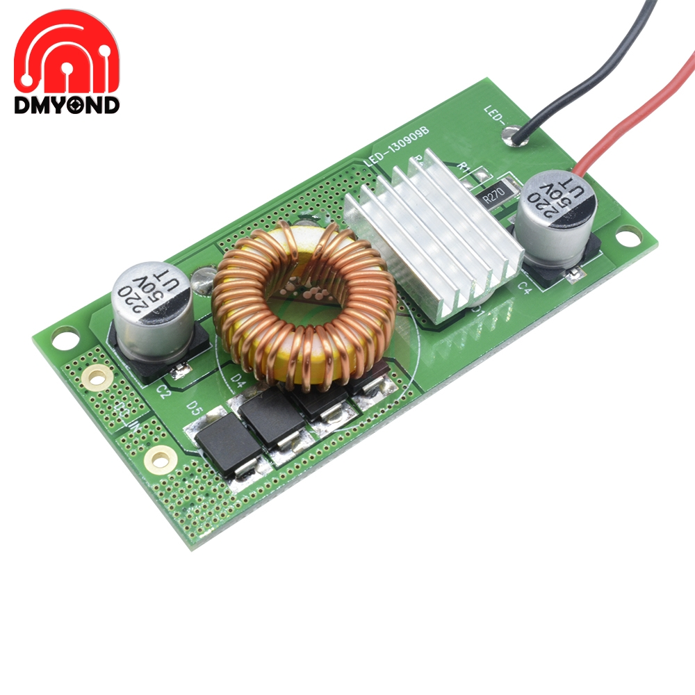 Just 30w 50w Dc-dc Constant Current Power Transformer Supply Module 12v 24v Driver Drive Board For 5050 3528 Rgb Led Light Strip Bulb