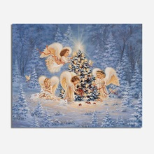 DIY Diamond Painting Original 5D Christmas tree and angel Full Drill forest home cros