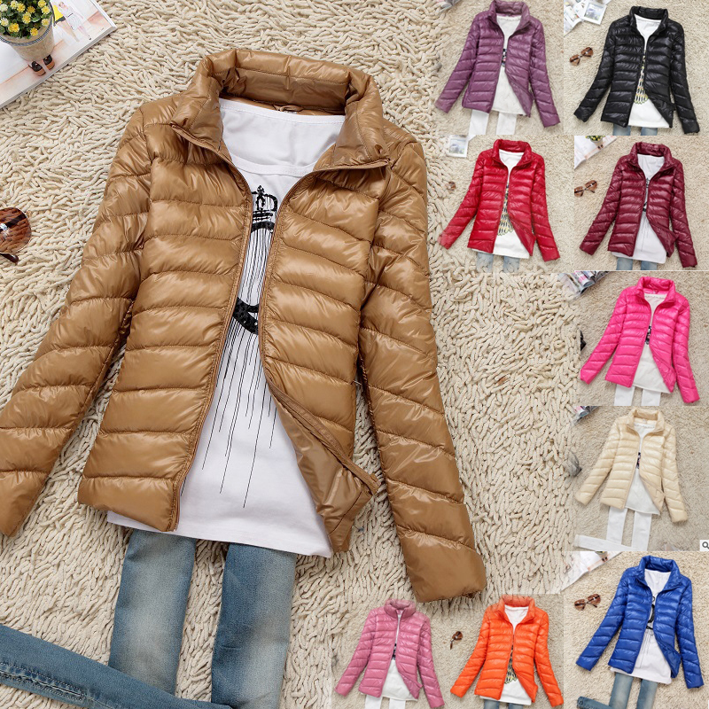 Nouvelle Pink Parkas Duvet Canard orange Et Veste Survêtement D'hiver 11 Vers Femmes Belle Court Luxe De Bas Dames light Plus Le Solide blue Couleur Élégant Red S1558 khaki red black dark Taille purple Pardessus Greenf rose dSnwU