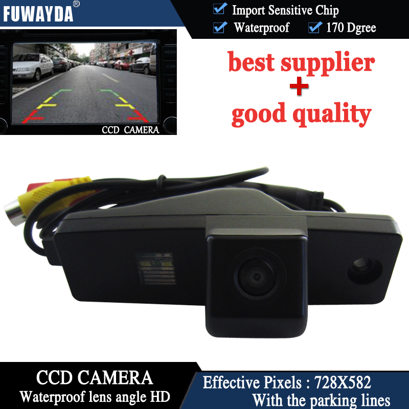 FUWAYDA Parking-Camera Highlander Car-Rear-View Night-Vision CCD LED HD For Toyota Kluger
