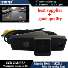 FUWAYDA LED Night Vision HD CCD Car Rear View Reverse Assistance system Parking Camera for Toyota Highlander Kluger LexusRX300