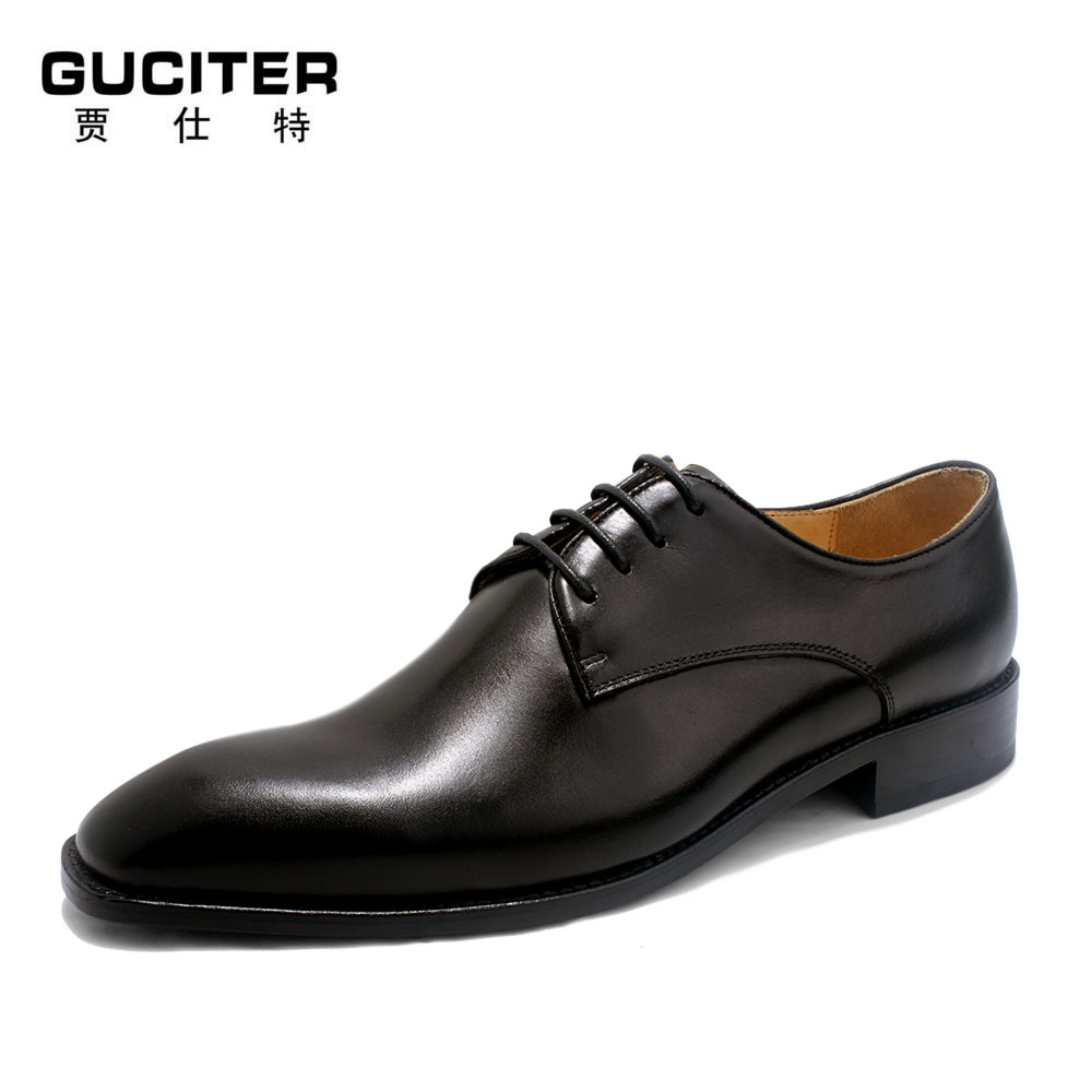 Mens handmade bespoke shoe free shipping high-end banquet cowhide leather fashion Goodyear white men's shoes wedding luxury