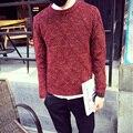 Siriusha Мужчины зимой свитер пуловер о-образным вырезом свитер мужской свитер тонкий утолщение свитер верхняя одежда мужская одежда