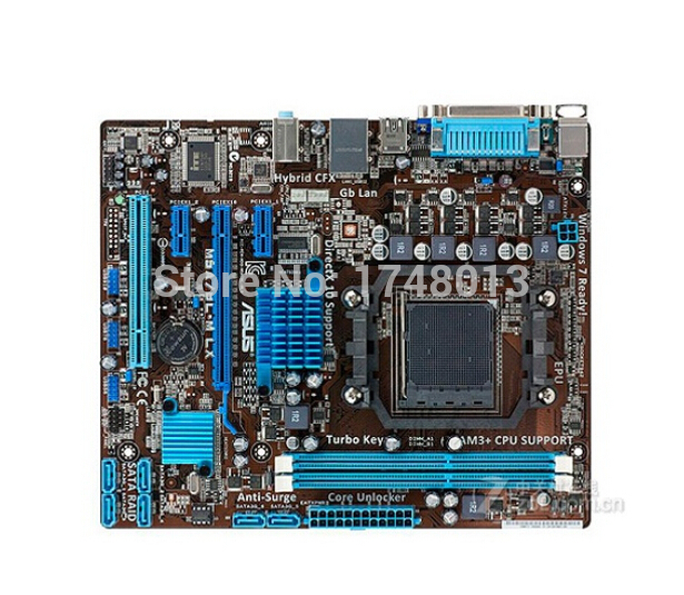 original motherboard for ASUS M5A78L-M LX boards Socket AM3 AM3+ DDR3 16GB 760G/780L Desktop motherboard Free shipping free shipping original motherboard for asus f1a55 v plus socket fm1 ddr3 boards a55 desktop motherboard