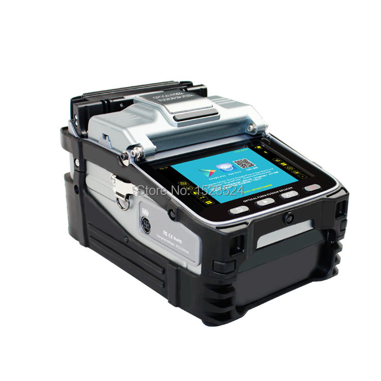 Six motors Brand New Fully Automatic FTTH Intelligent Fiber Optic Splicing Machine Fiber Optic Fusion Splicer