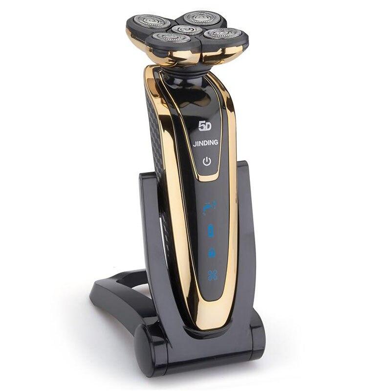 100-240v Original 5D Electric Razor Electric Shaver For Men rechargeable beard men's shaving machine waterproof 2017 new 5 mode electric rechargeable shaver for men