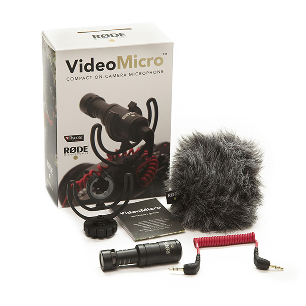 все цены на Original Rode Video Micro Recording Microphone Interview Microfone with Deadcat for Canon Nikon DSLR Camera for iPhone Smooth онлайн