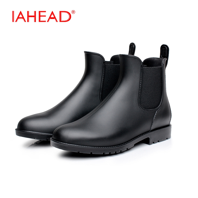 mens rubber boots new design chelsea boots wear