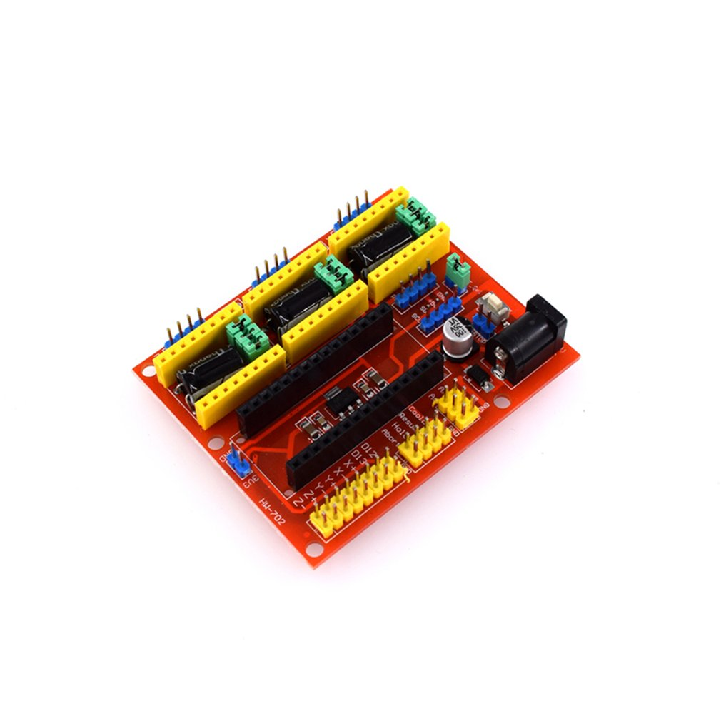 CNC Shield V4 Engraving Machine Stepper Motor Driver For 3D Printer Arduino NANO Portable Size Electronic Component