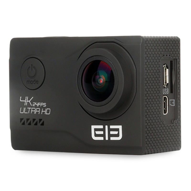 Original New Elephone EleCam Explorer Elite 4K WiFi Action Sport Camera 170 Degrees FOV Display Perfect for Outdoor Sports sport elite se 2450