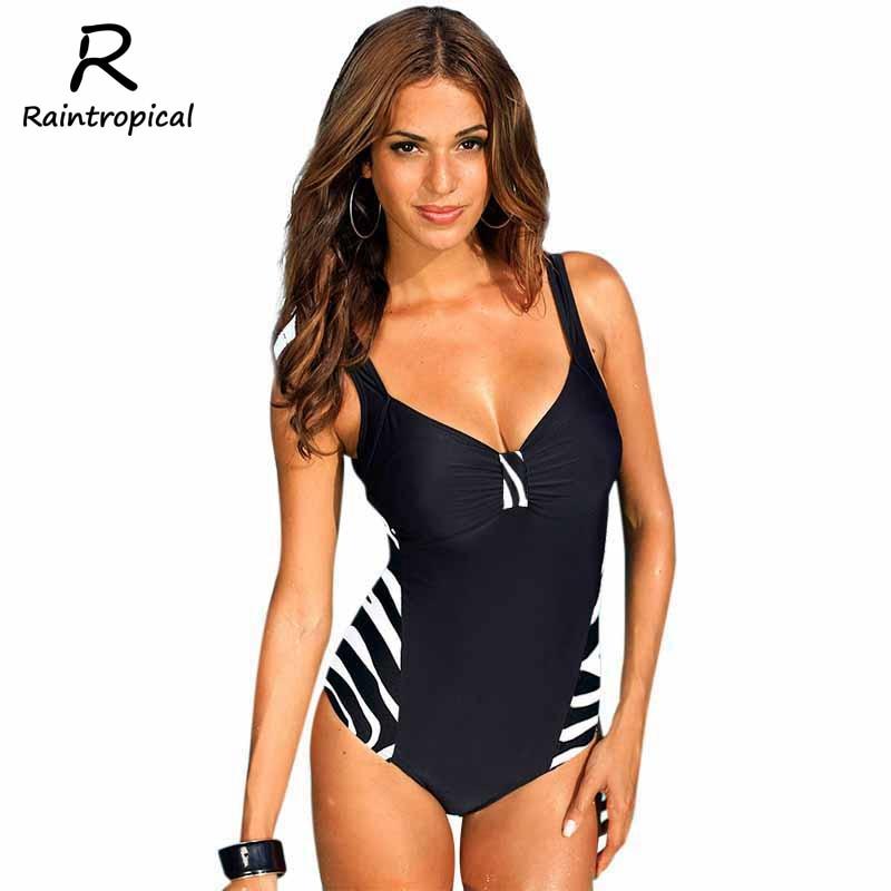 2017 newest one piece swimsuit women bathing suits vintage summer beachwear plus size swimwear. Black Bedroom Furniture Sets. Home Design Ideas