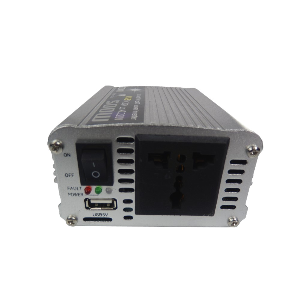 Car Power Inverter Converter 500W DC 12V to AC 220V USB Adapter Portable Voltage Transformer Car Charger цена