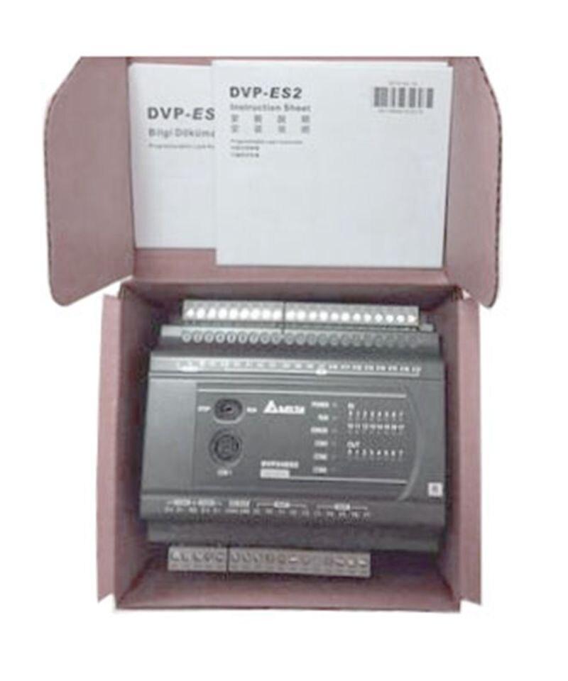New Original DVP24ES200R Delta PLC ES2 series 100-240VAC 16DI 8DO Relay output new original delta plc dvp32eh00r2