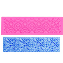 M0318 Silicone Cake Lace Mat Silicone Lace Mold Fondant Cake Decorating Tools Border Decoration Lace Mold Stencil Baking