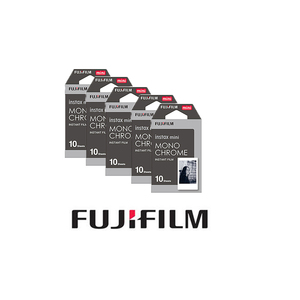 Image 3 - 5 packs Fujifilm Instax Mini Film Monochrome For Mini 8 7s 7 10 20 30 50s 50i 90 25 dw Share SP 1 Instant Paper Photo