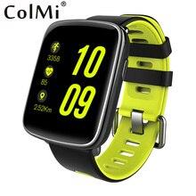 ColMi Reloj Inteligente Bluetooth Llamada de Teléfono SMS Heart Rate Monitor Podómetro Sueño Sedentaria Recordar Beber Reloj Teléfono Inteligente